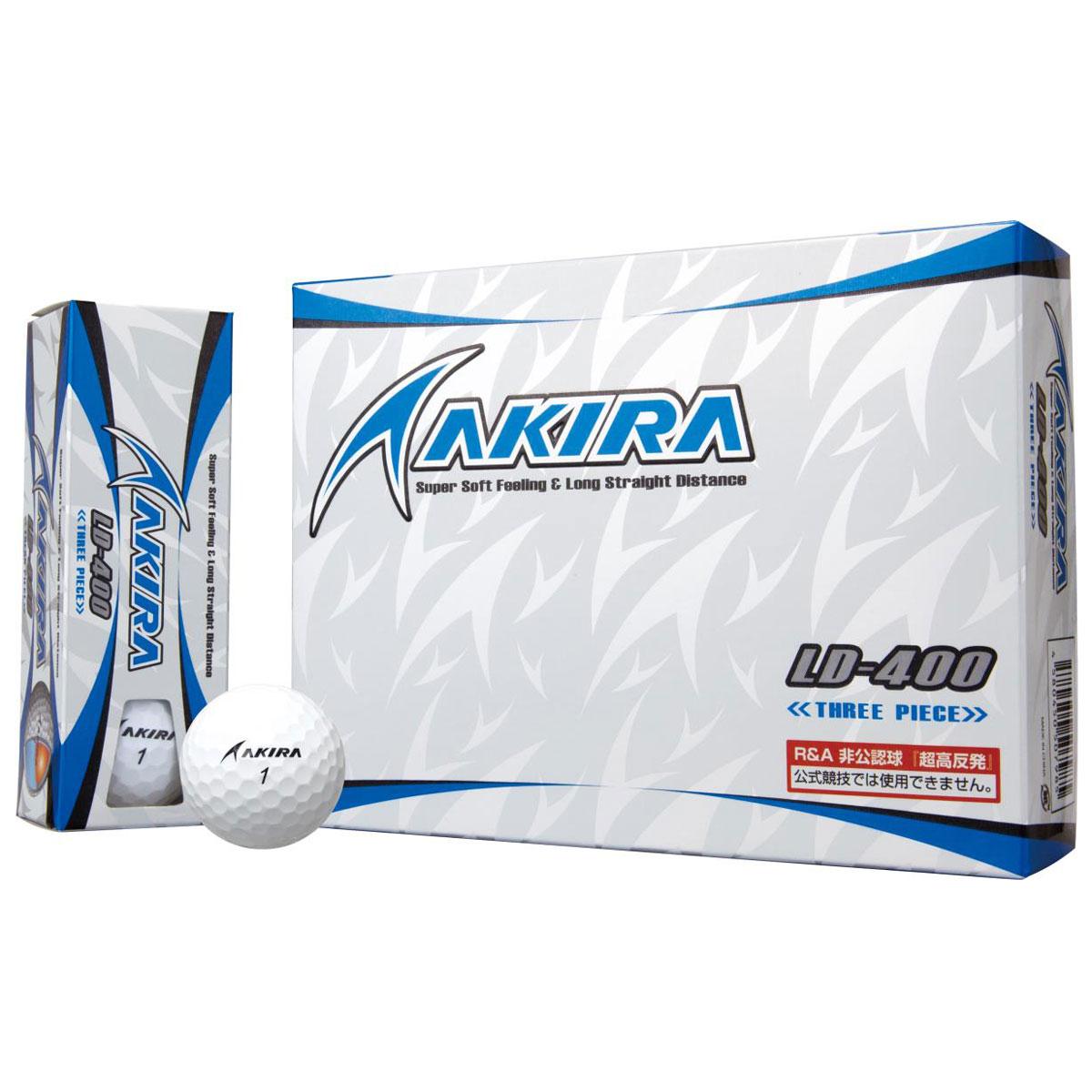 AKIRA LD-400 ボール 超高反発モデル【非公認球】