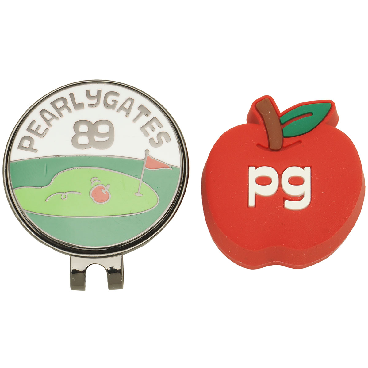 リンゴ半立体マーカー