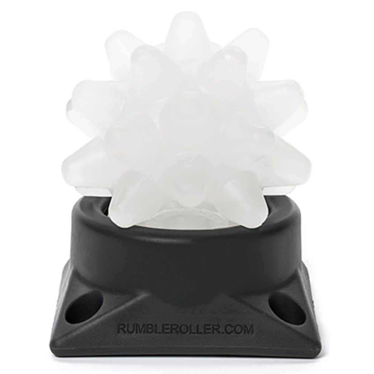 ランブルローラー ビースティ ボール ソフト(ホワイト+クリア) ※ベース付き ホワイト/クリア