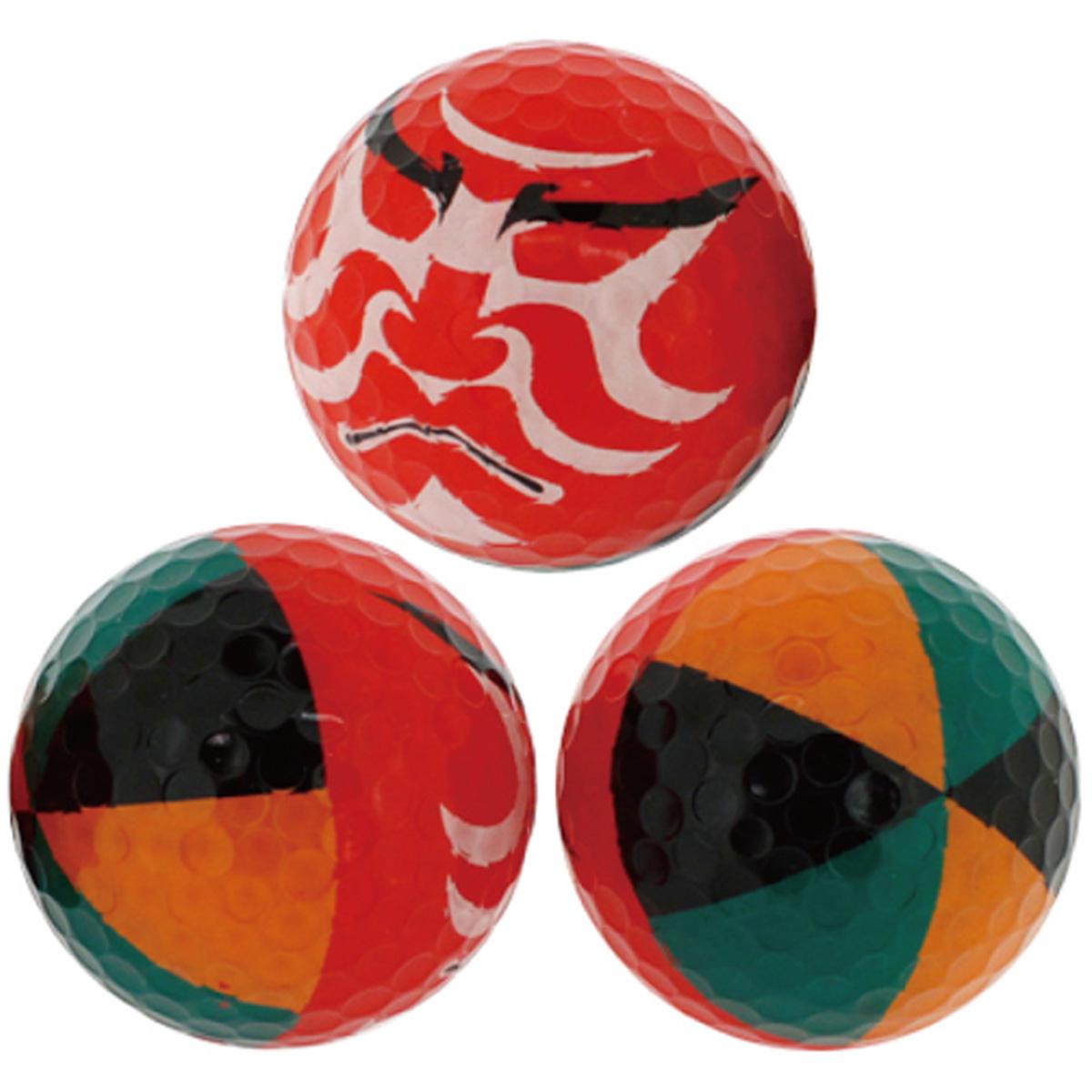 ホクシン交易 歌舞伎ボール 1スリーブ【非公認球】