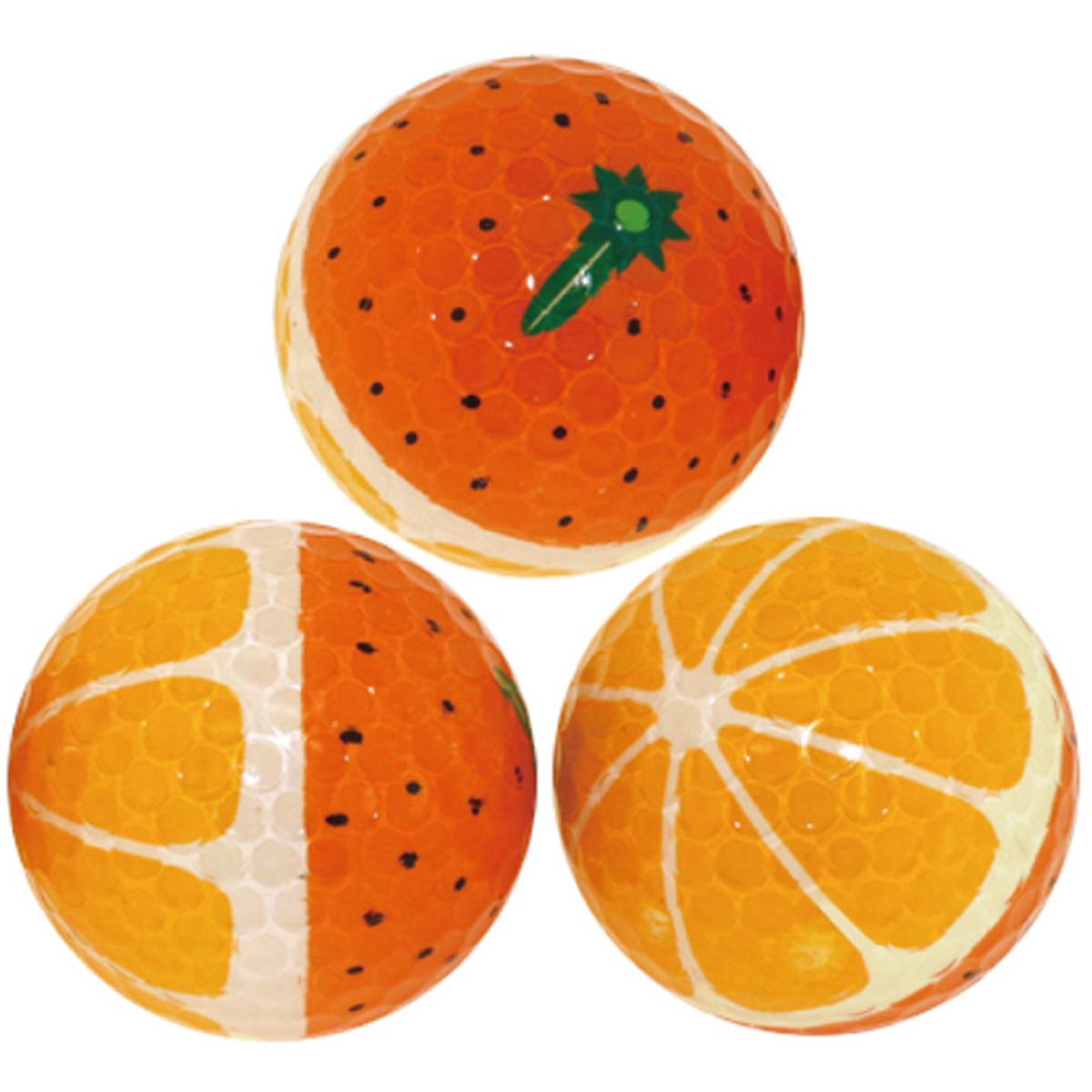 ホクシン交易 オレンジボール 1スリーブ【非公認球】
