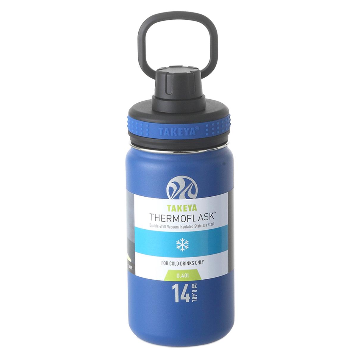 サーモフラスク 0.4L 真空ステンレスボトル 保冷専用