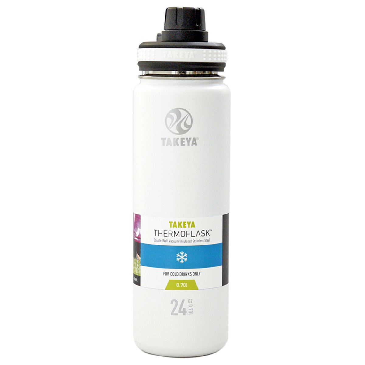 サーモフラスク 0.7L 真空ステンレスボトル 保冷専用