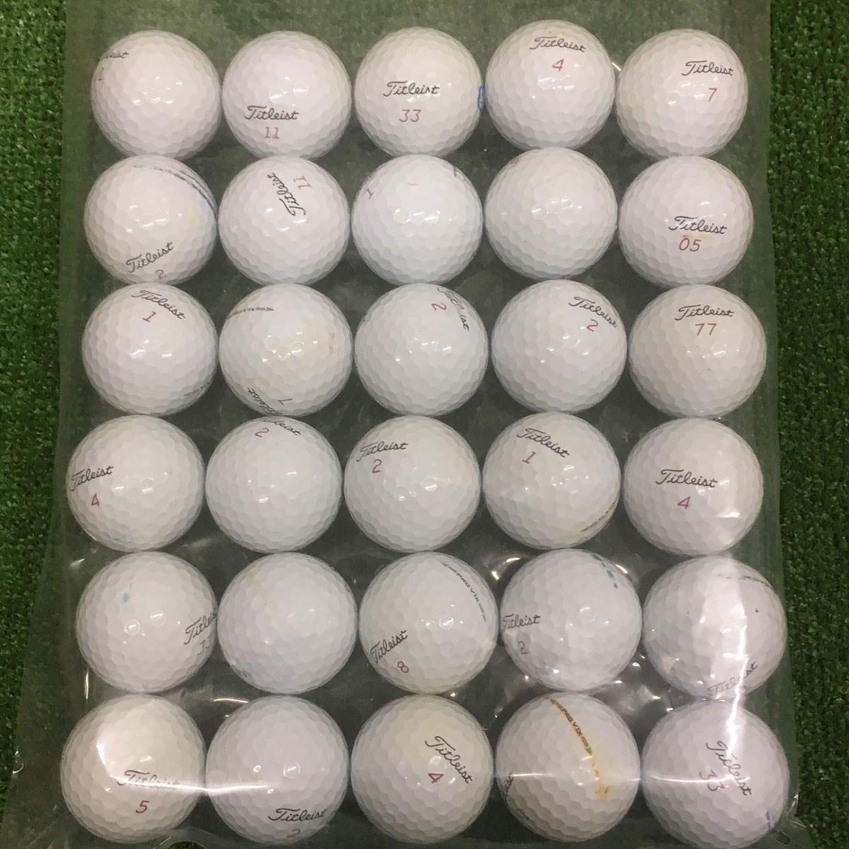 ロストボール Pro V1x混合 ロストボール 30個セット