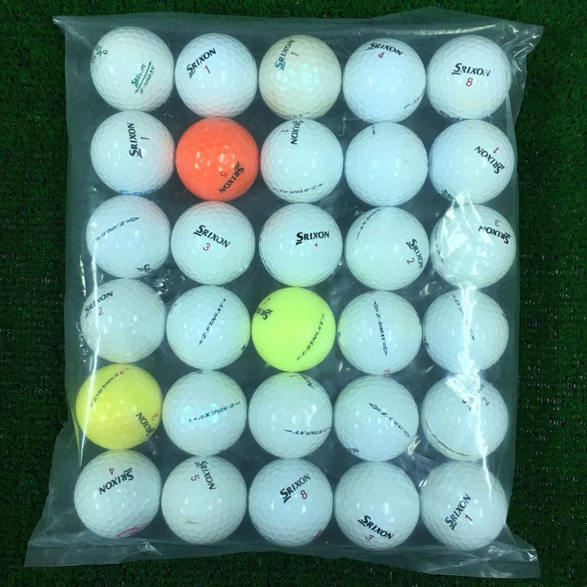 ロストボール Lost Ball Z-STAR XV系混合 ロストボール 30個セット 30個入り 混合