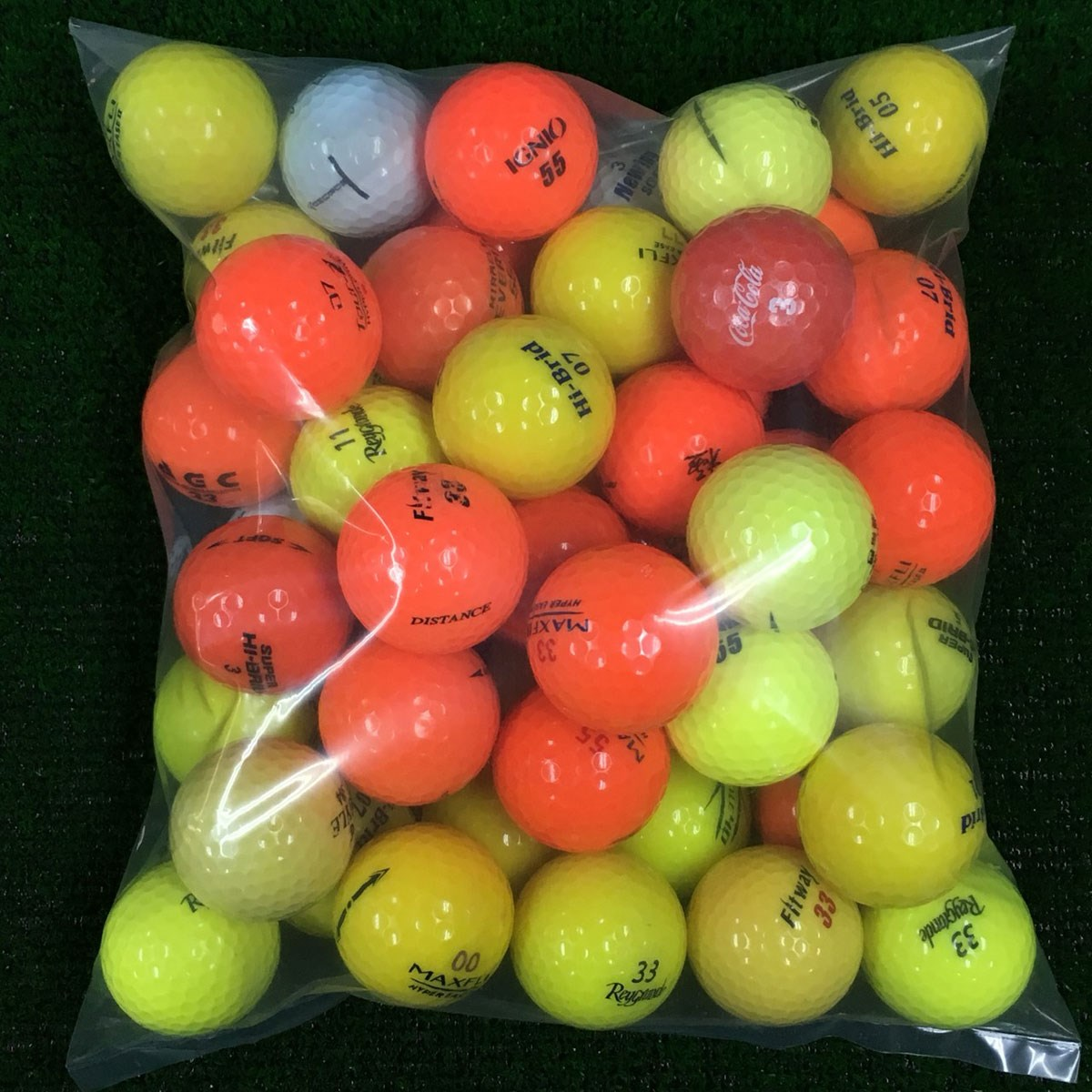 ロストボール ブランド混合 カラー ロストボール 50個セット