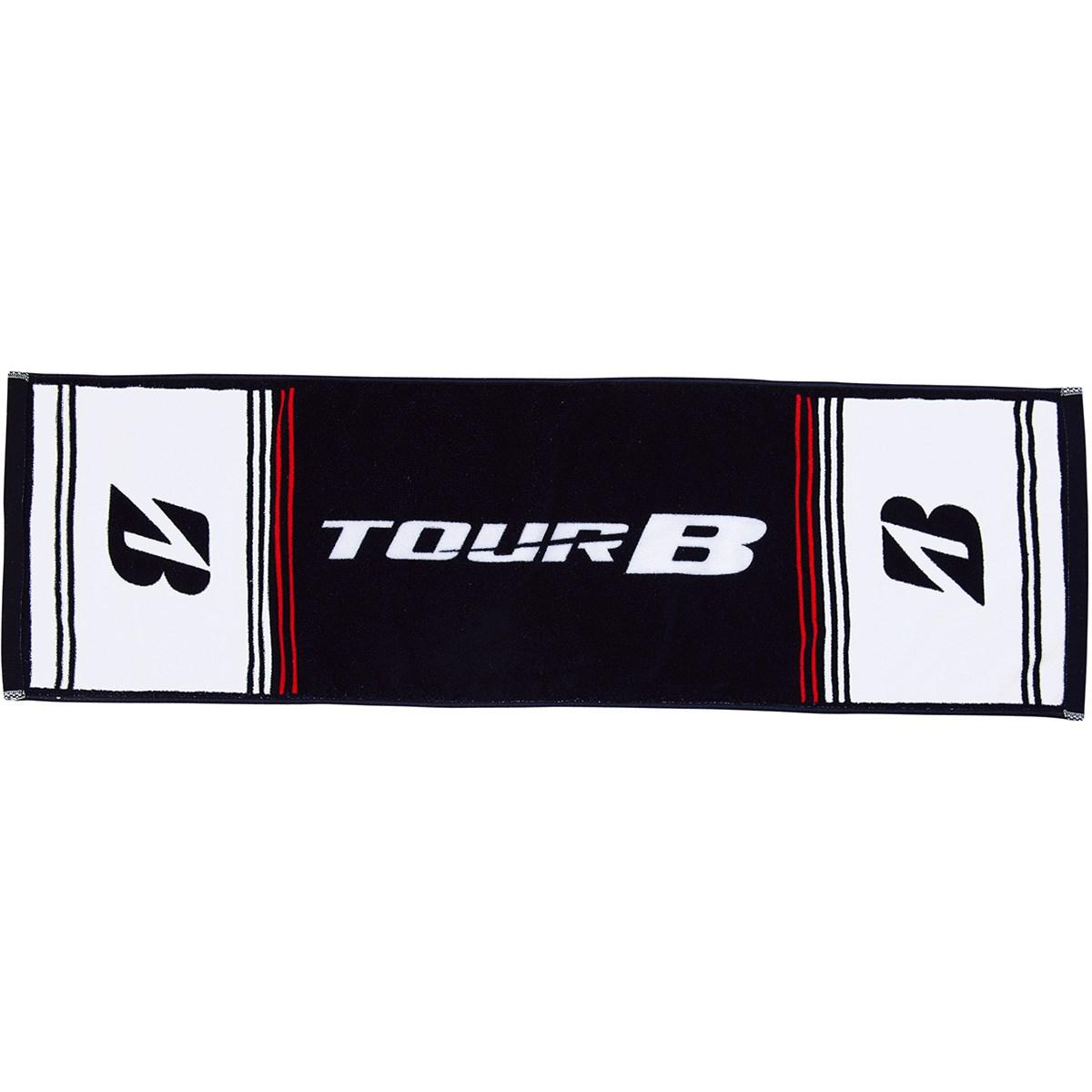 ブリヂストン TOUR B スポーツタオル ホワイト/ブラック