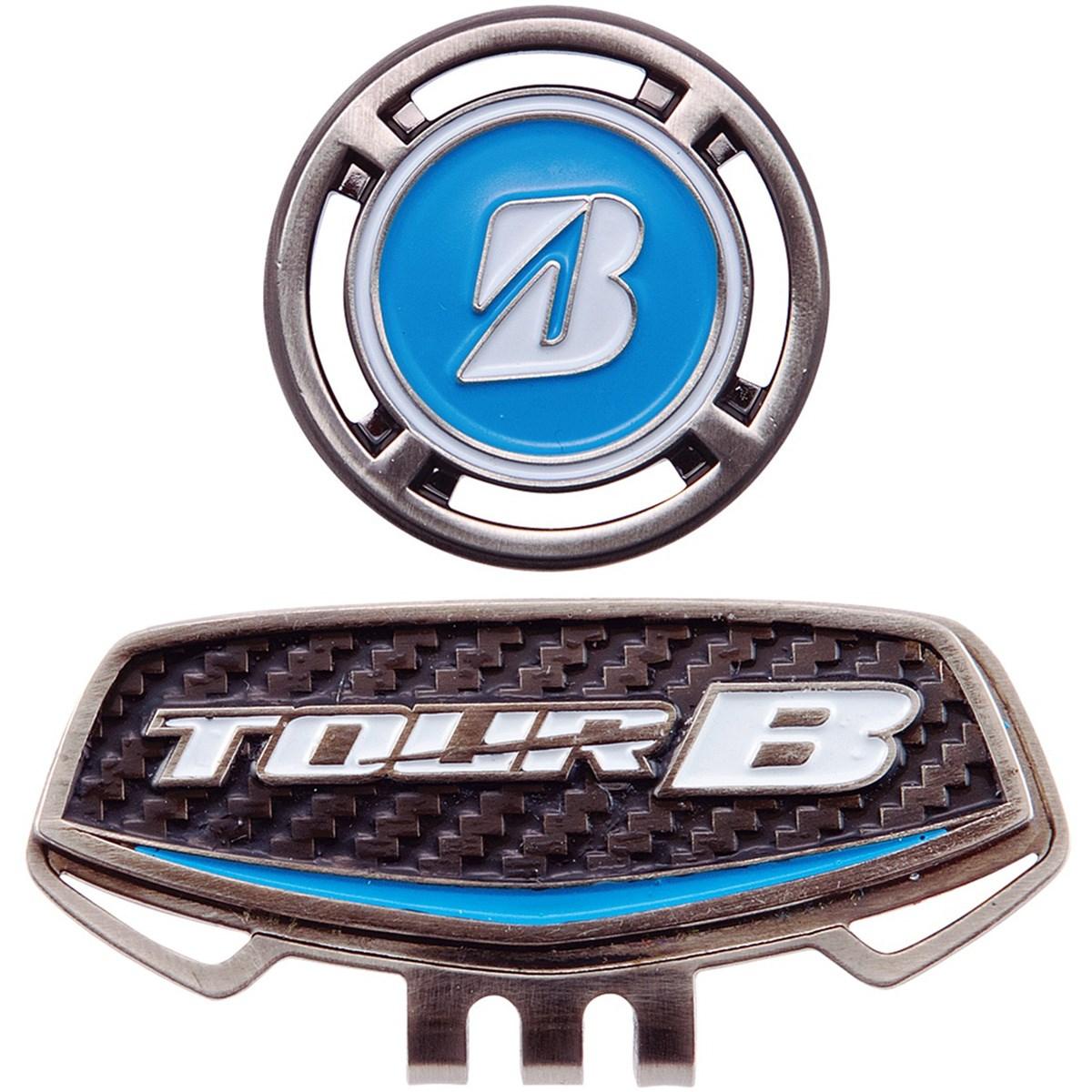 ブリヂストン TOUR B キャップマーカー ブルー