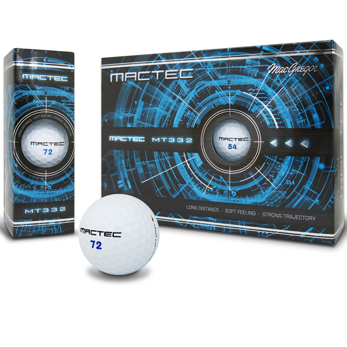 マックテック MT332 スリーピースボール