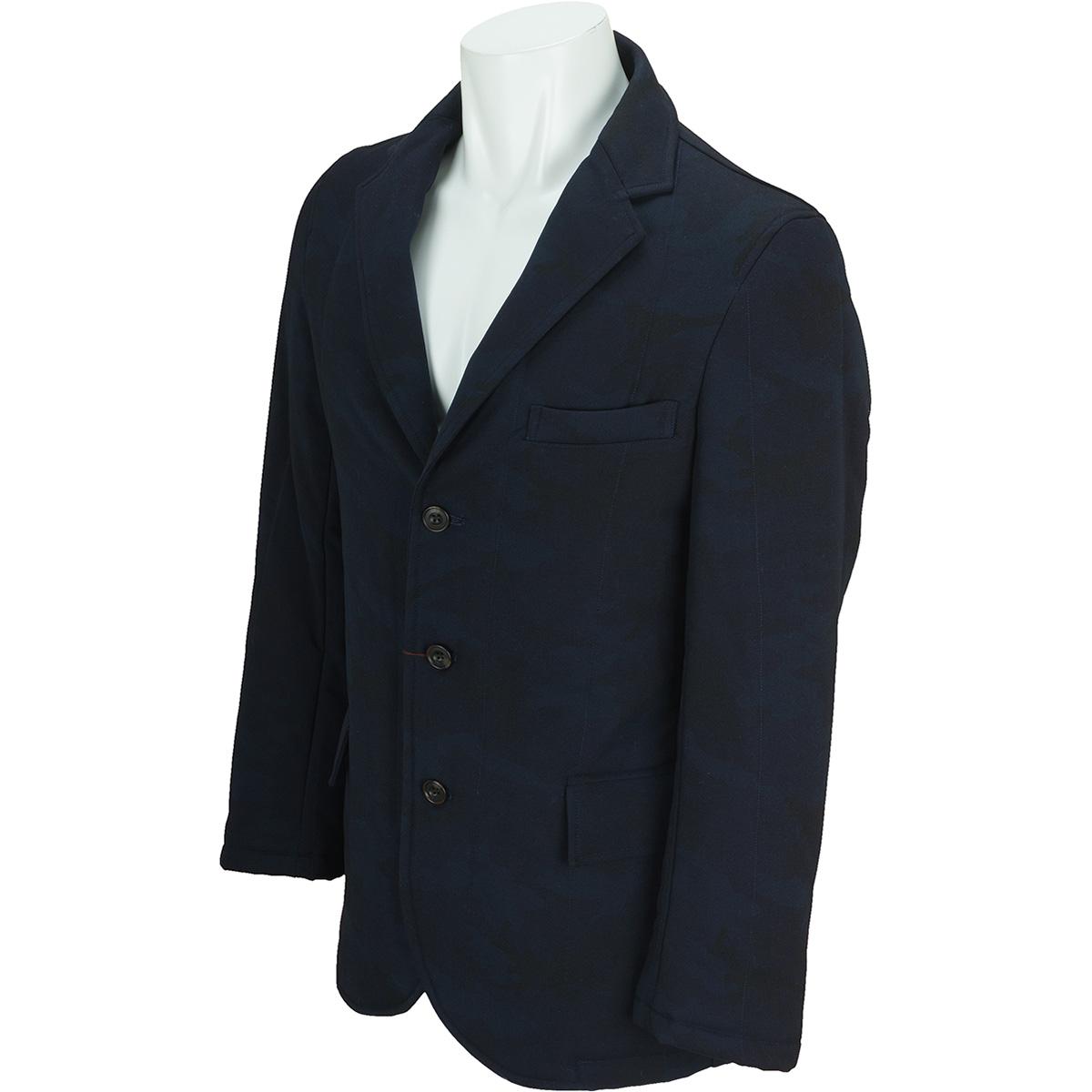 カモフラプリント中綿キルトジャケット