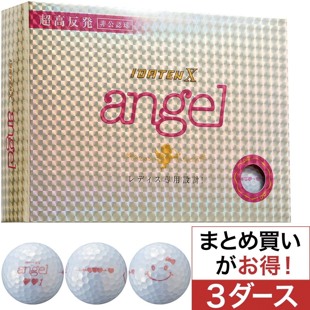 韋駄天 X angel ボール 3ダースセット【非公認球】レディス