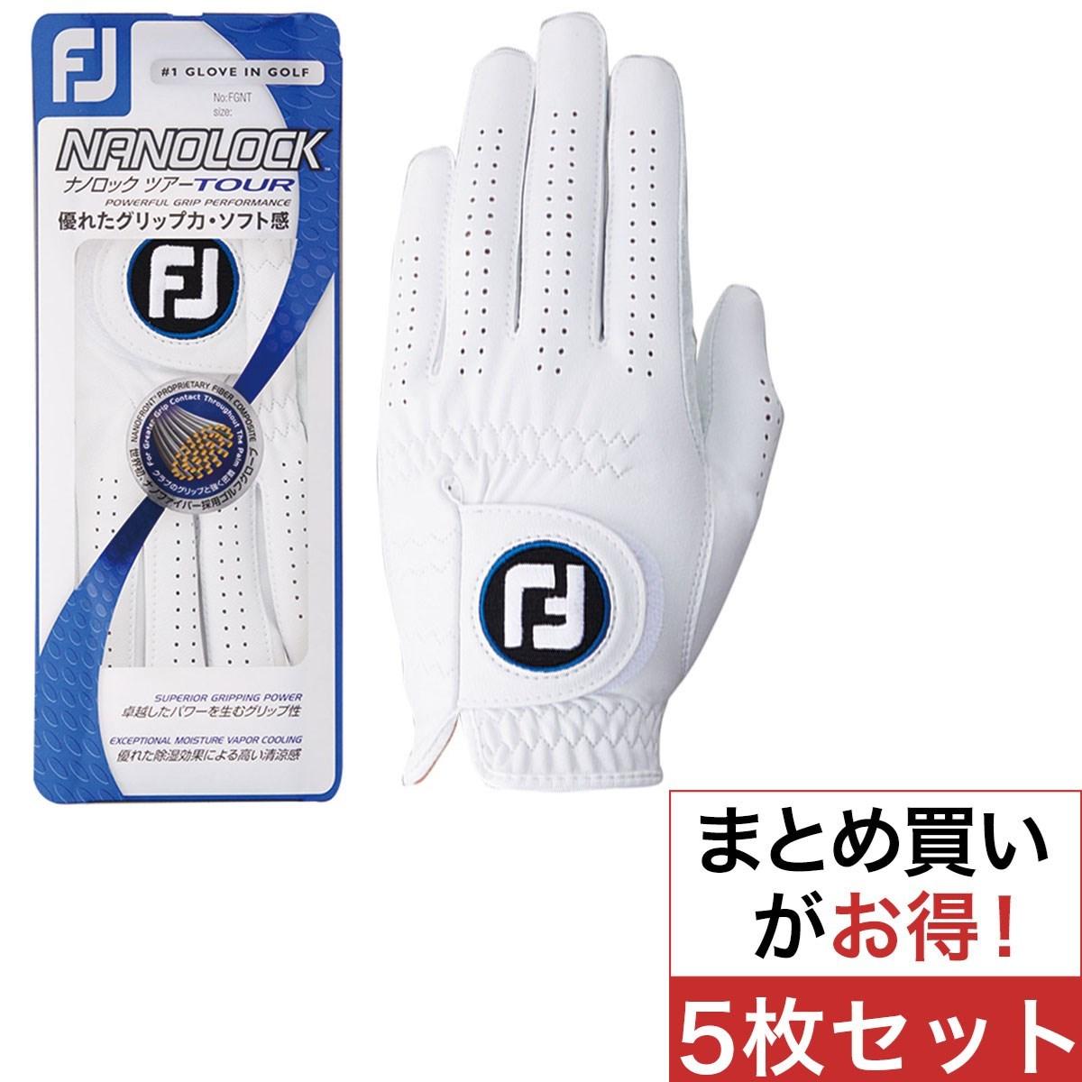 フットジョイ(FootJoy) ナノロックツアーグローブ 5枚セット