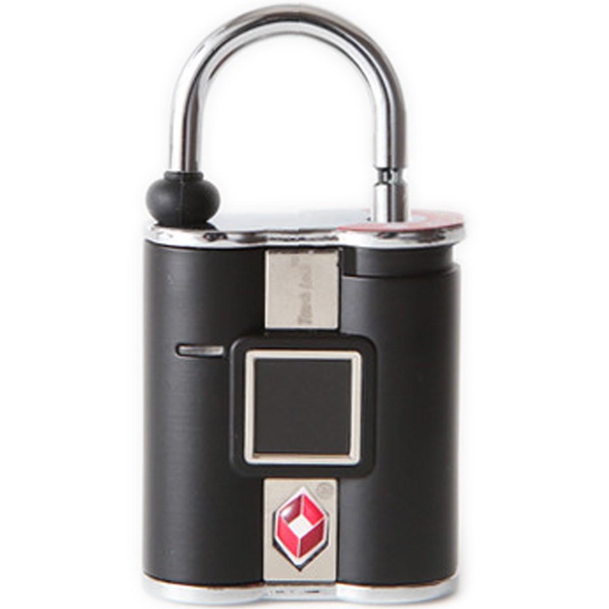 TouchLock TSA 指紋認証型スマート南京錠 ブラック