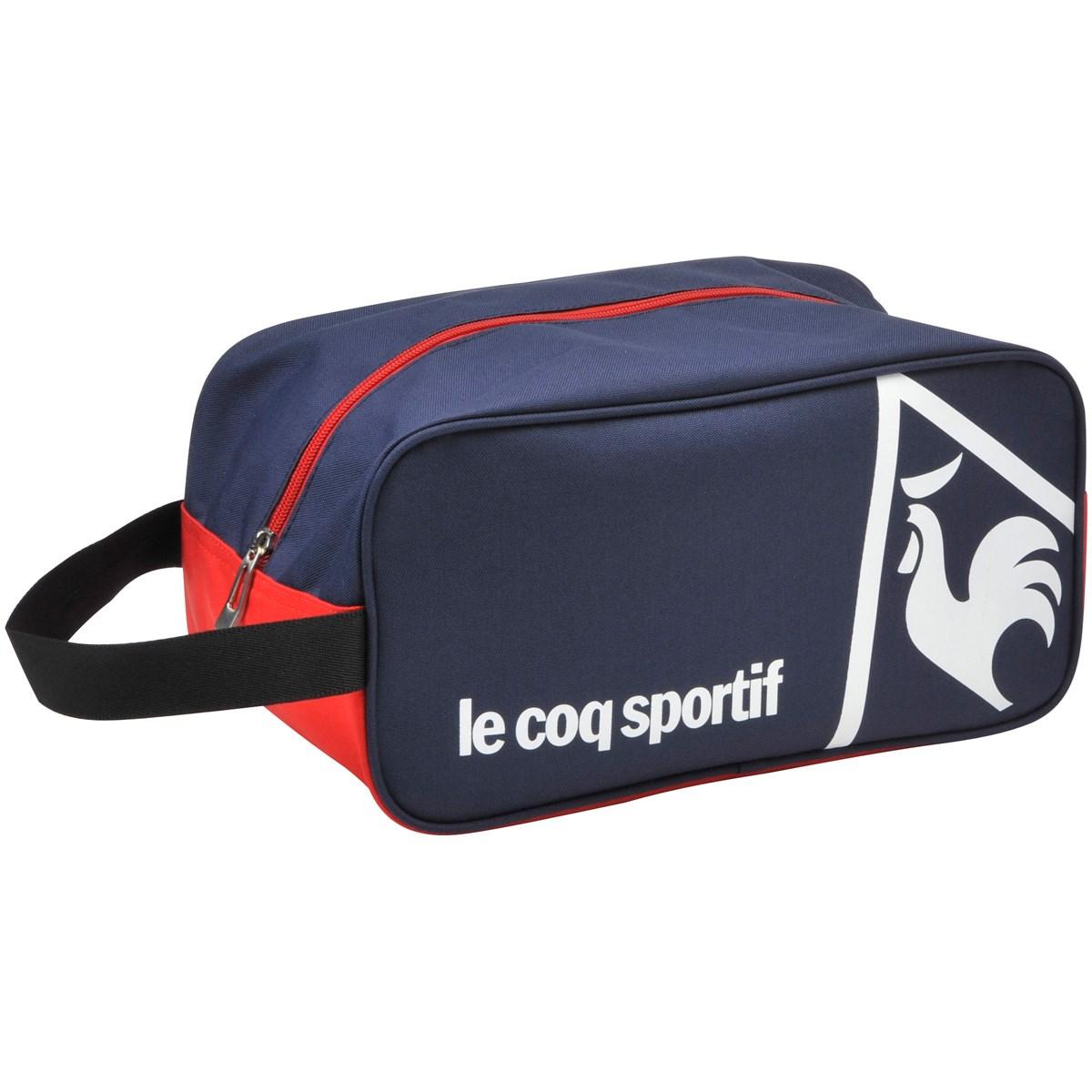 ルコックゴルフ Le coq sportif GOLF シューズケース ネイビー