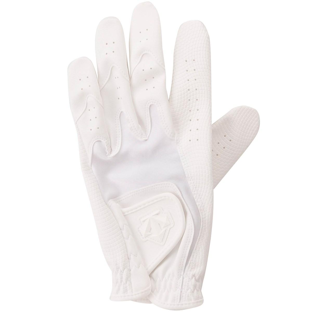 デサントゴルフ DESCENTE GOLF ゴルフグローブ M 左手着用(右利き用) ホワイト