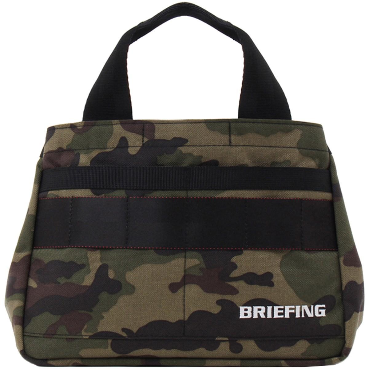 ブリーフィング BRIEFING ミニトートバッグ グリーンカモ