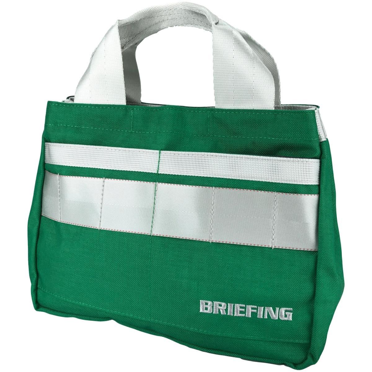 ブリーフィング BRIEFING ミニトートバッグ グリーン