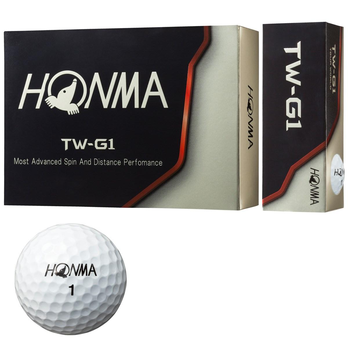 本間ゴルフ(HONMA GOLF) TW-G1 ボール