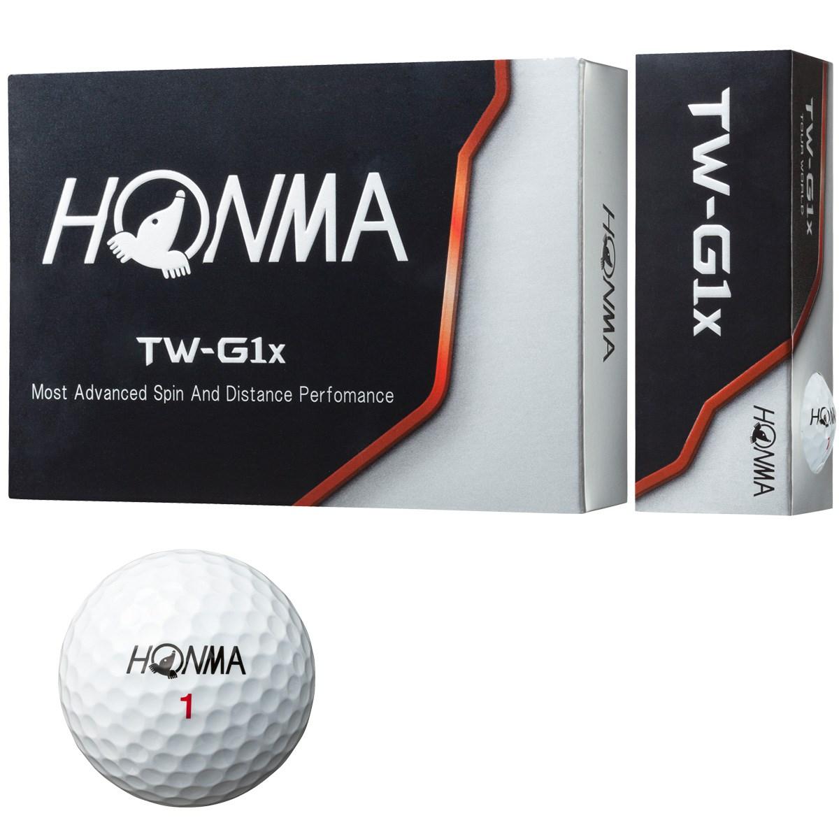 本間ゴルフ(HONMA GOLF) TW-G1x ボール