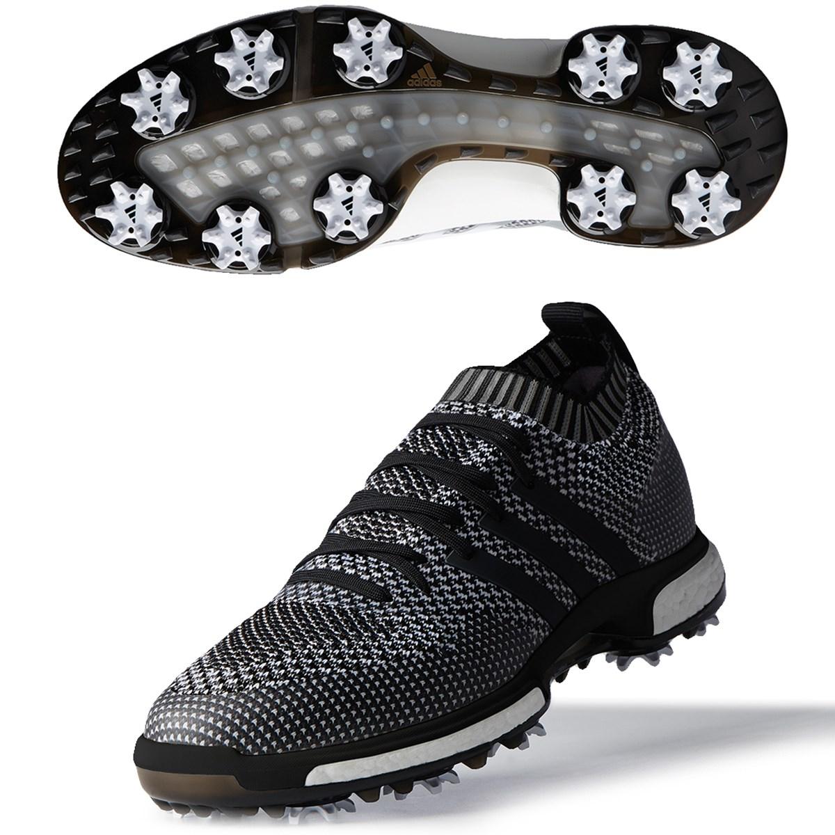 [値下げしました] アディダス adidas ツアー360 ニットシューズ コアブラック/グレースリー/ホワイト メンズ ゴルフ