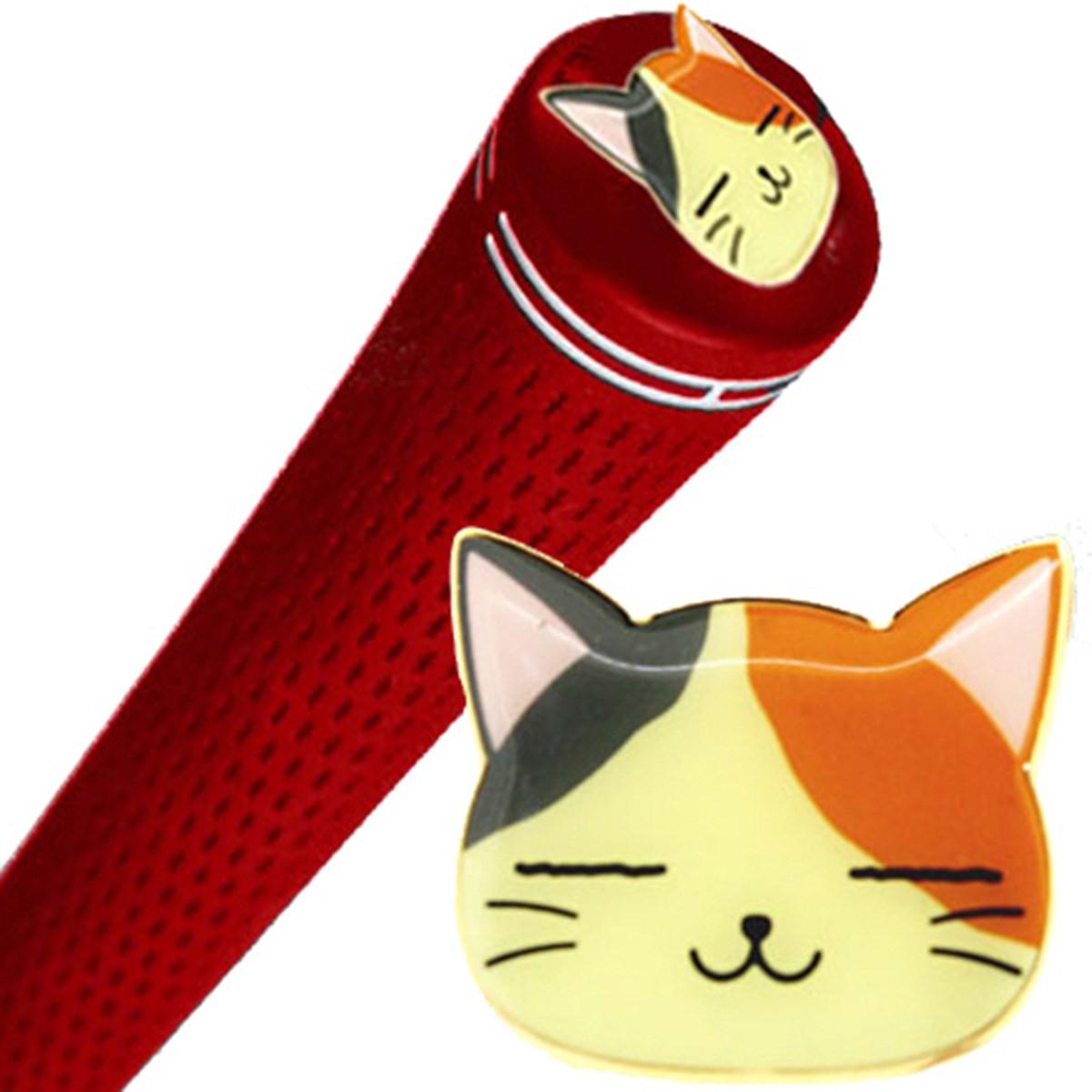 ホクシン交易 猫グリップエンドマーカー オレンジ
