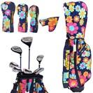 <ゴルフダイジェスト> ラウドマウスゴルフ クラブセット(7本セット) レディース画像