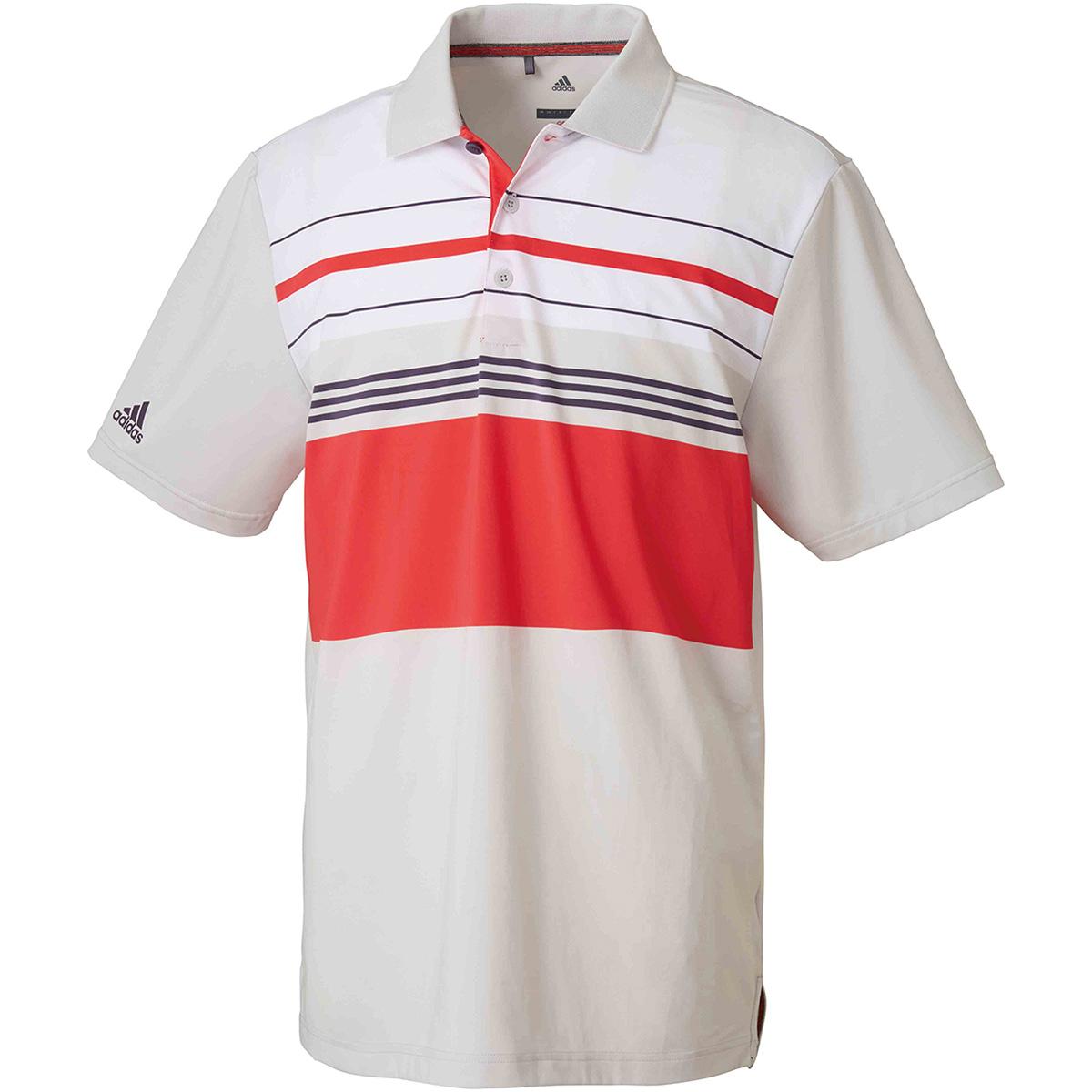 ストレッチ CP ULTIMATE365 マルチストライプ 半袖ポロシャツ
