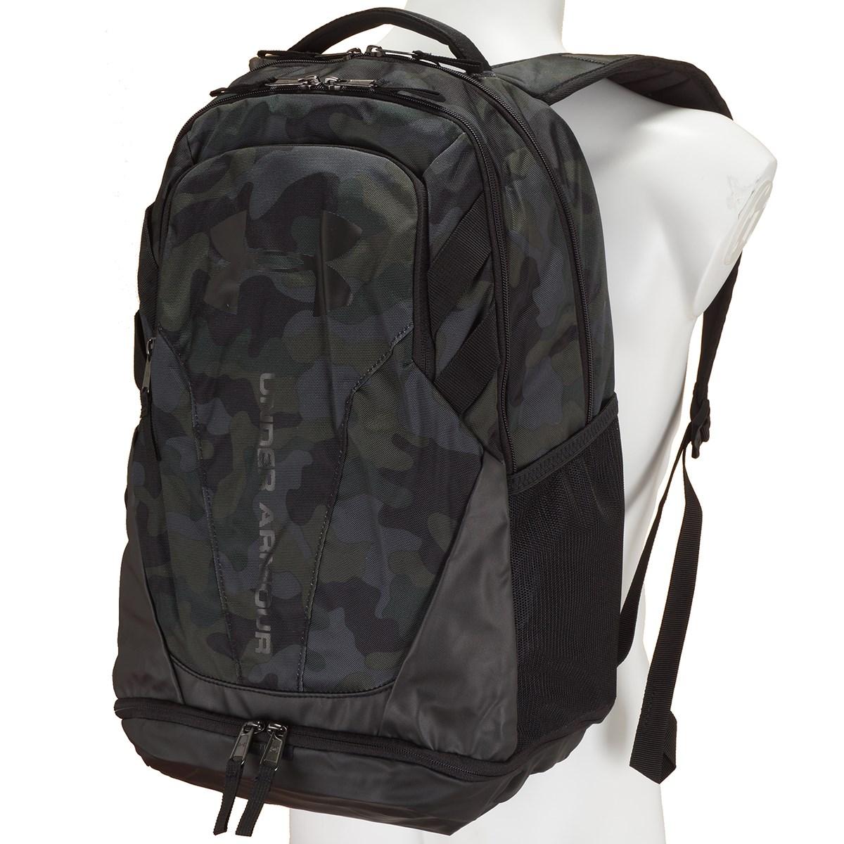 [定番モデル] アンダーアーマー UNDER ARMOUR UA HUSTLE 3.0 バックパック DESERT SAND/BLACK/BLACK メンズ ゴルフ