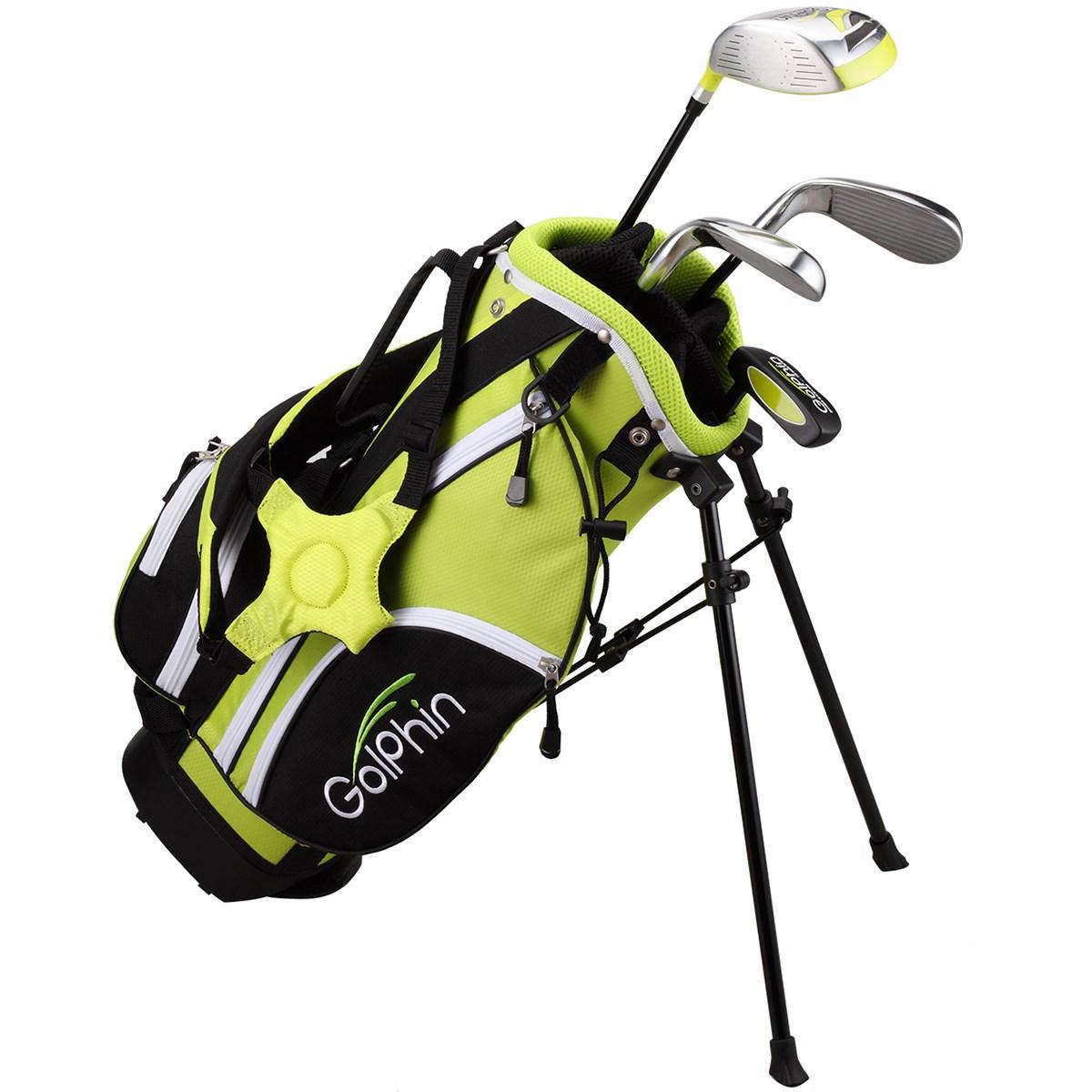 ダイヤゴルフ DAIYA GOLF ゴルフィン クラブセット526(4本セット) 5-6歳用 UNI イエロー ジュニア