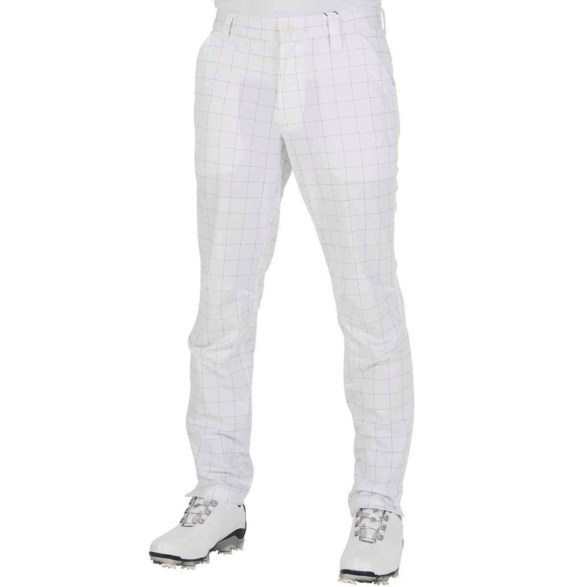 GDO オリジナル GDO ORIGINAL 6ポケットジャージゴルフパンツ 股下73cm 1:ウエスト目安75-77 ホワイトペン