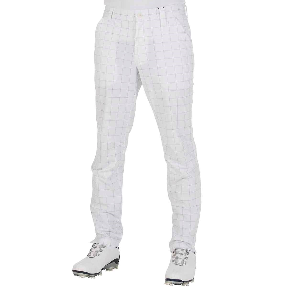 GDO オリジナル GDO ORIGINAL 6ポケットジャージゴルフパンツ 股下79cm 2:ウエスト目安78-80 ホワイトペン