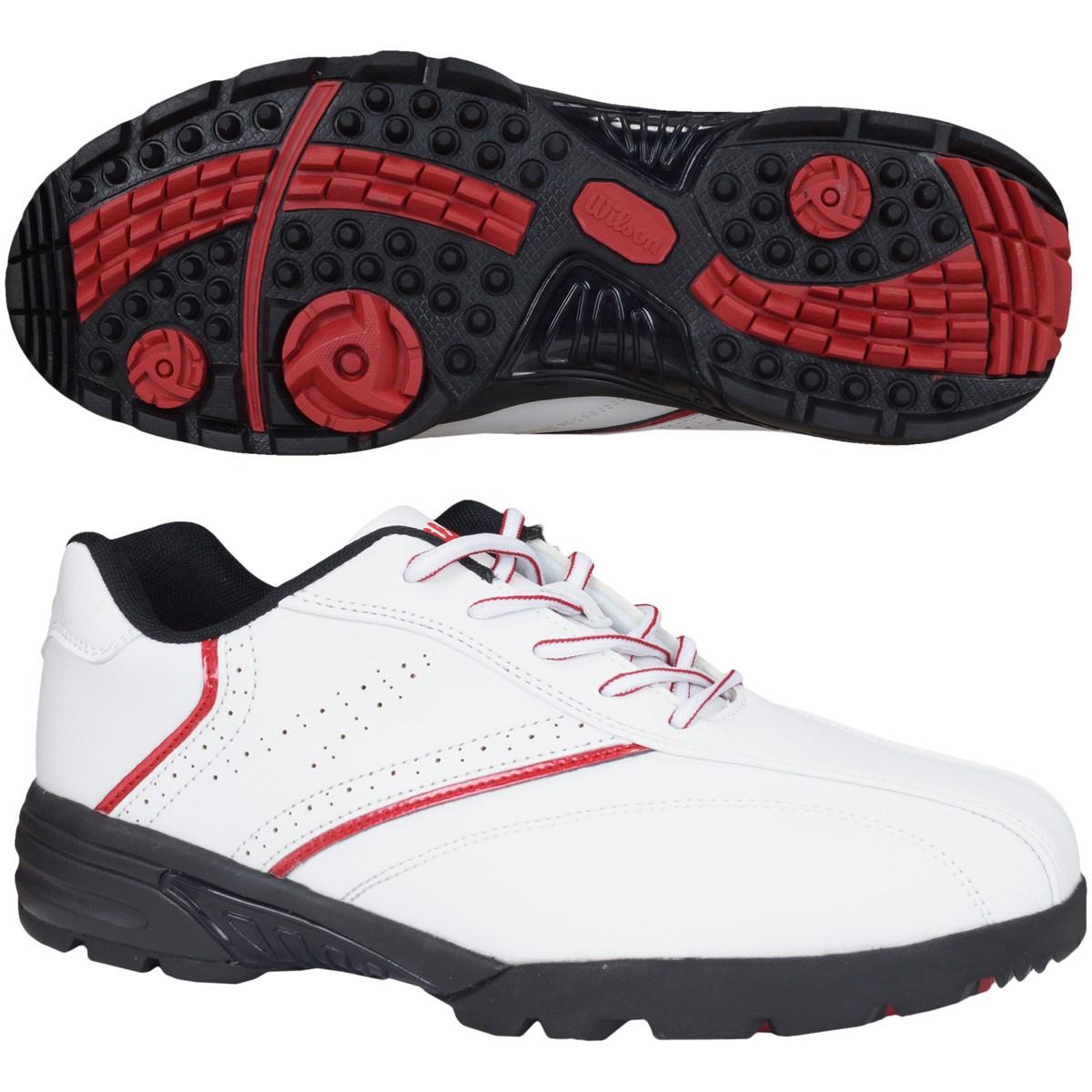ウイルソン Wilson スパイクレスゴルフシューズ 25.5cm ホワイト