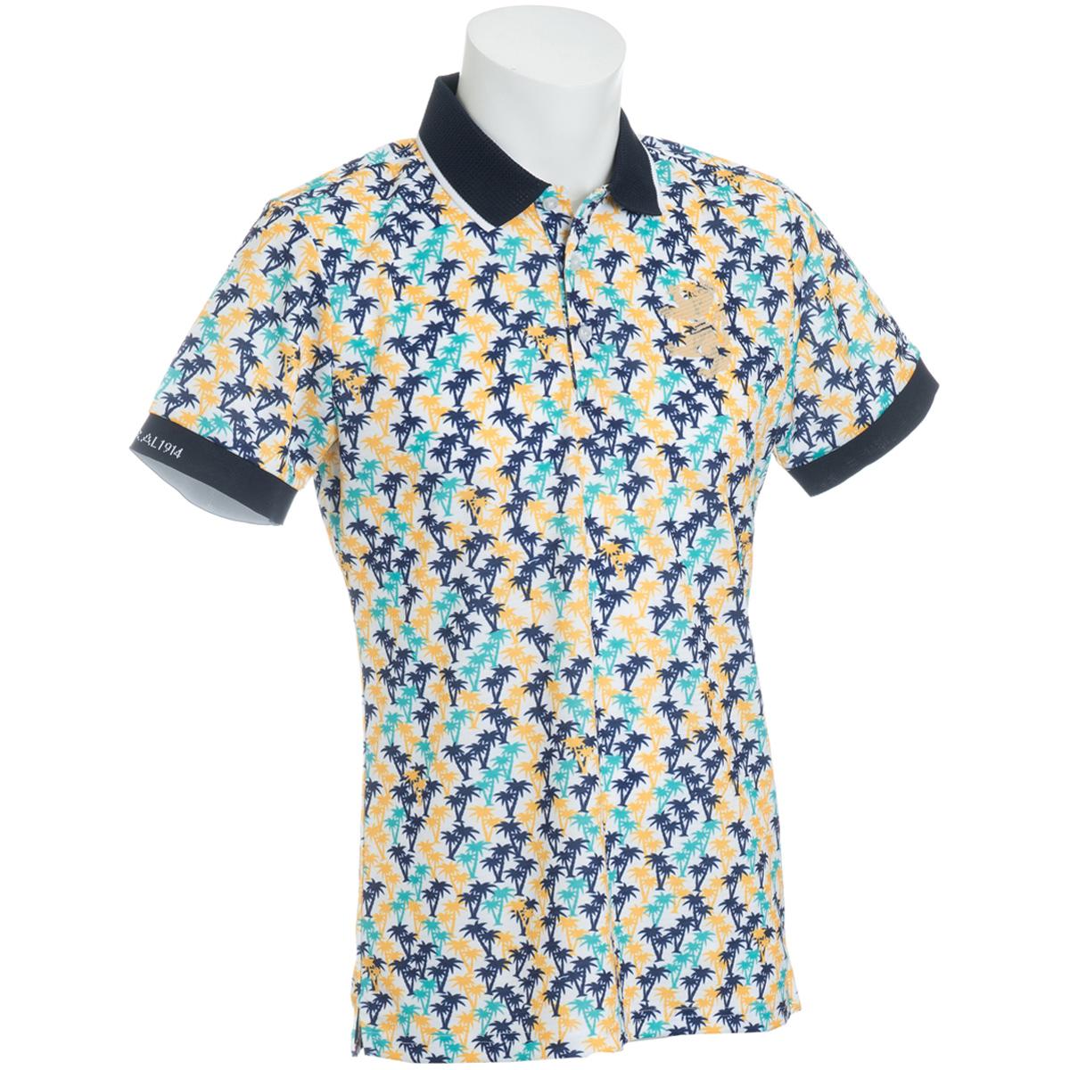 マイクロヤシの木 半袖ポロシャツ