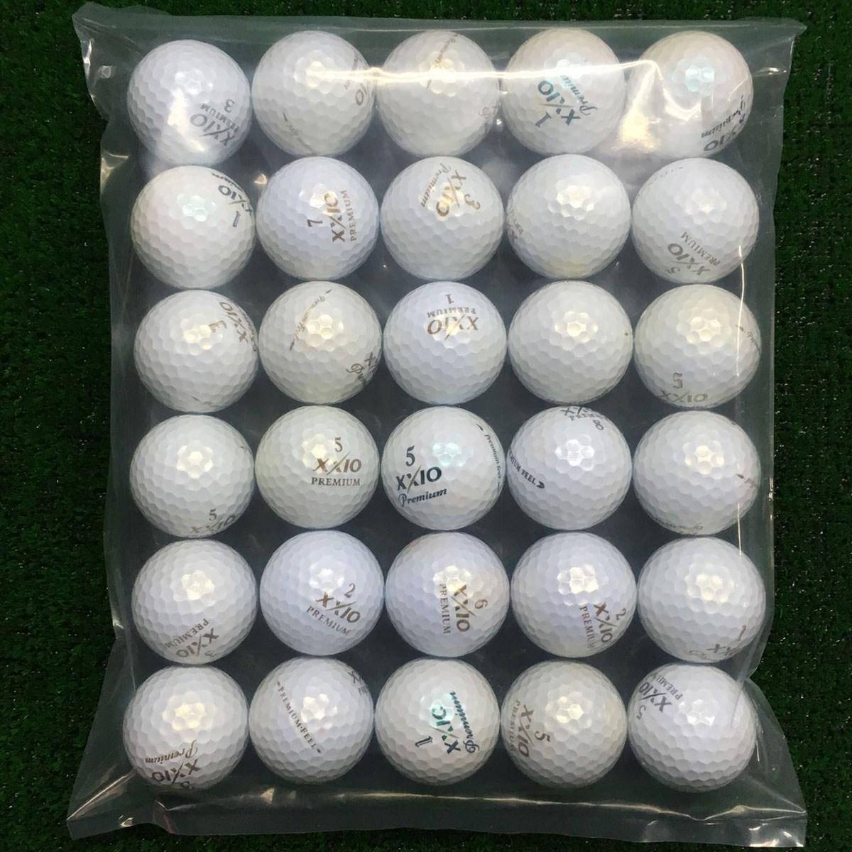 ロストボール XXIO Premium feel 混合 ボール 30個セット
