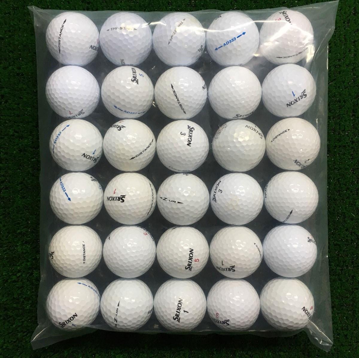 ロストボール SRIXON 混合 ボール 30個セット