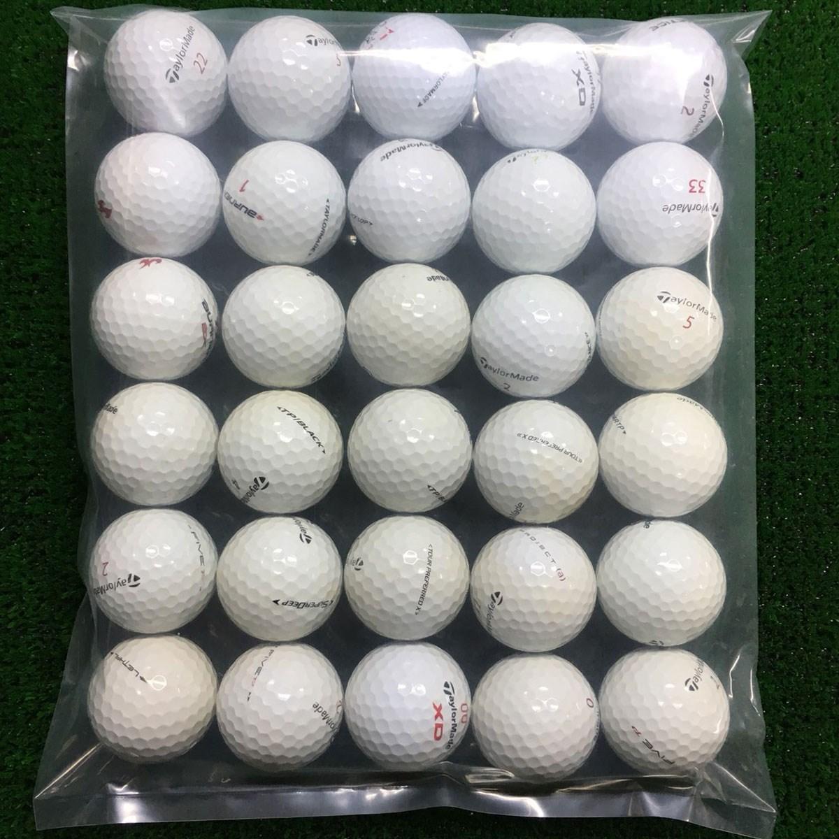 ロストボール Lost Ball テーラーメイド 混合 ボール 30個セット 30個入り ホワイト