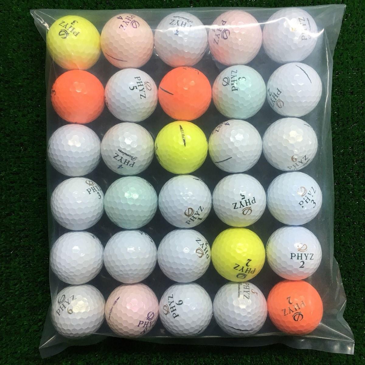 ロストボール BRIDGESTONE PHYZ各種混合 ボール 30個セット