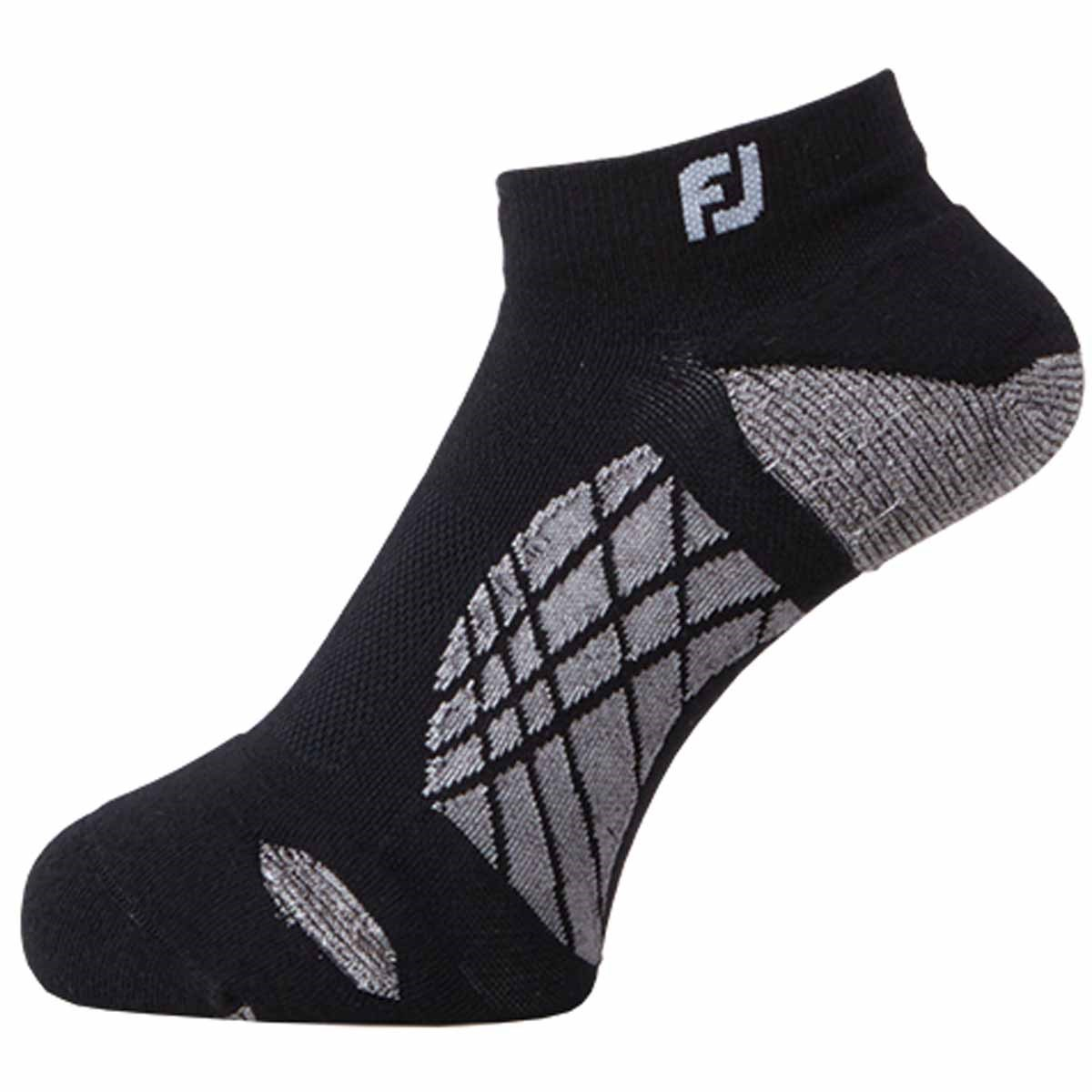 フットジョイ Foot Joy ナノロックテック スポーツ ソックス フリー ブラック