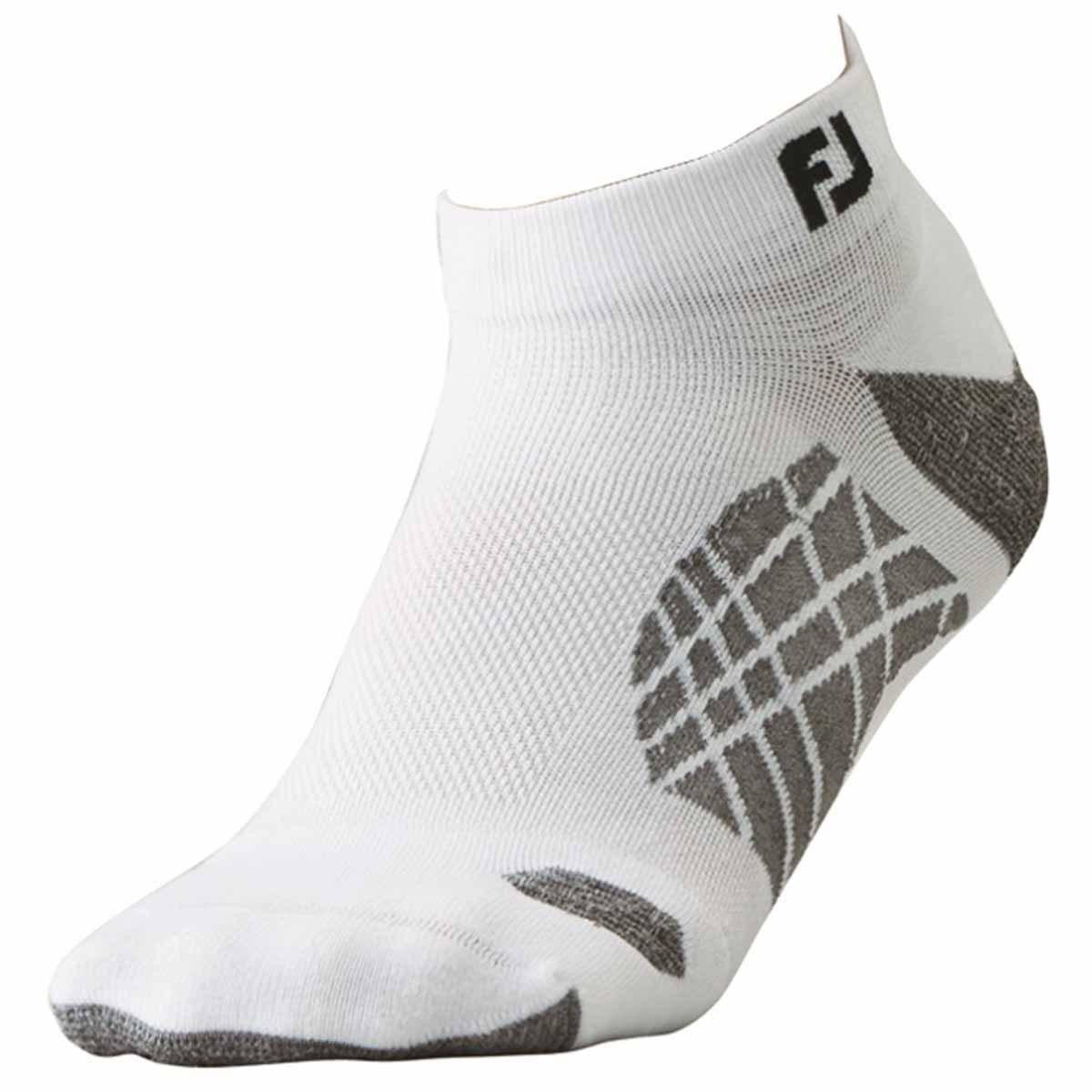 フットジョイ Foot Joy ナノロックテック スポーツ ソックス フリー ホワイト