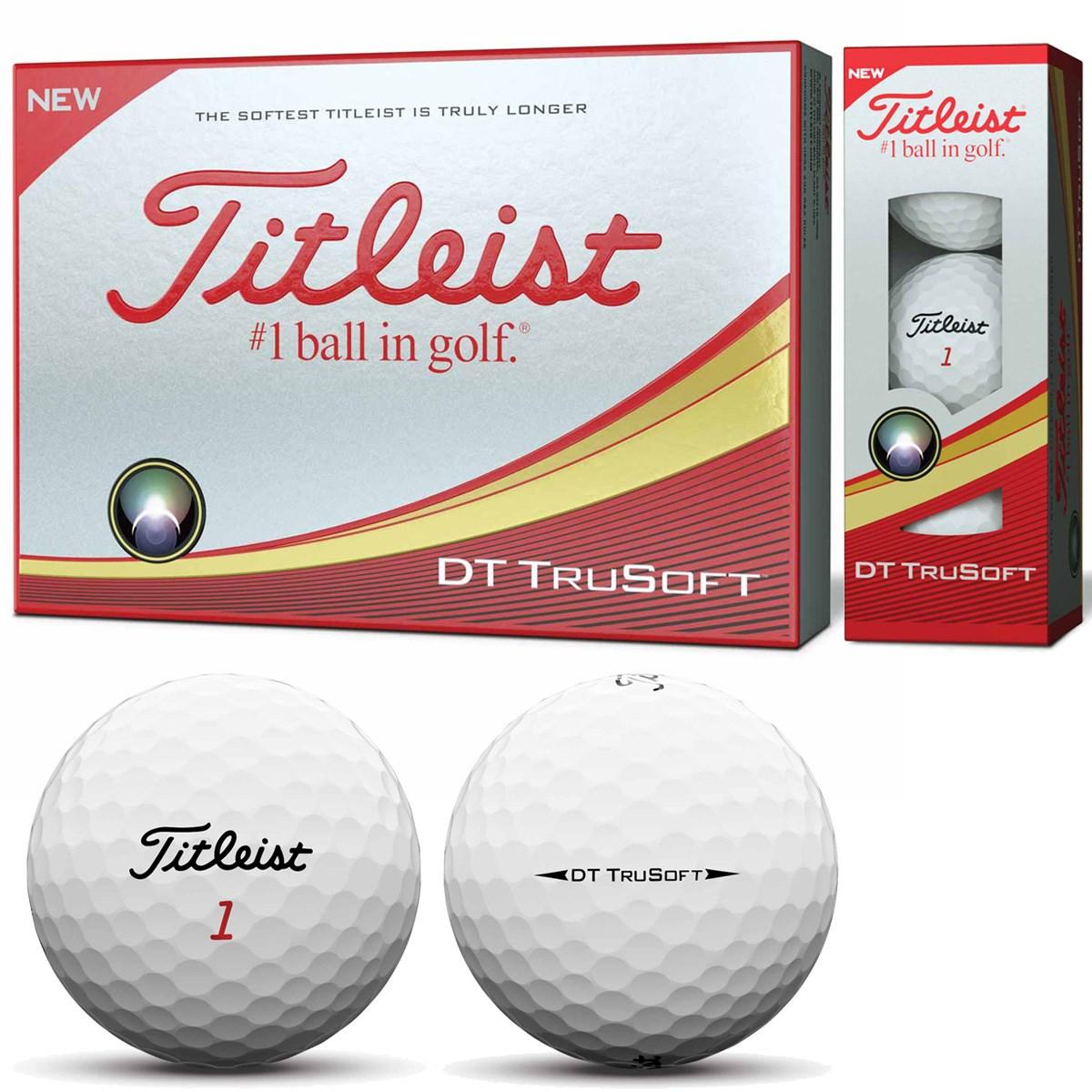 タイトリスト(Titleist) DT TRUSOFT ボール 2018年モデル