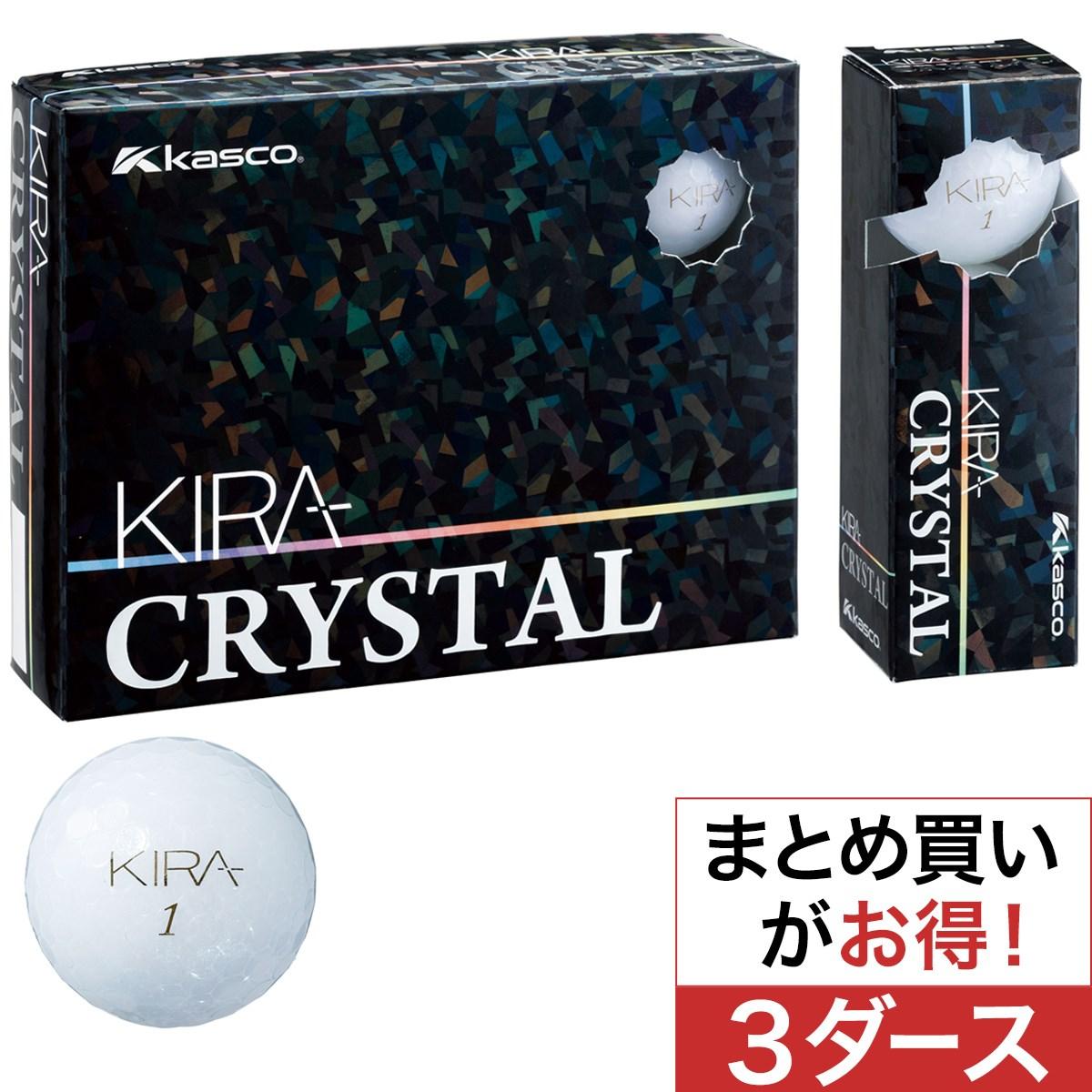 キャスコ(KASCO) KIRA CRYSTAL ボール 3ダースセット