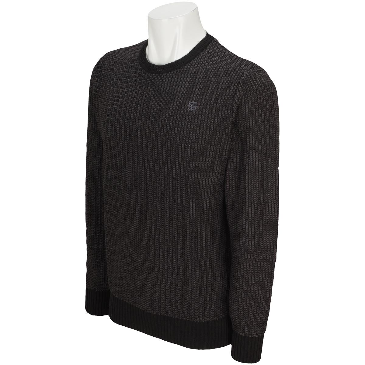 BLK タック鹿の子 セーター