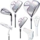 <ゴルフダイジェスト> ウイルソン Tiara MODA クラブセット(8本セット) レディース ゴルフ画像