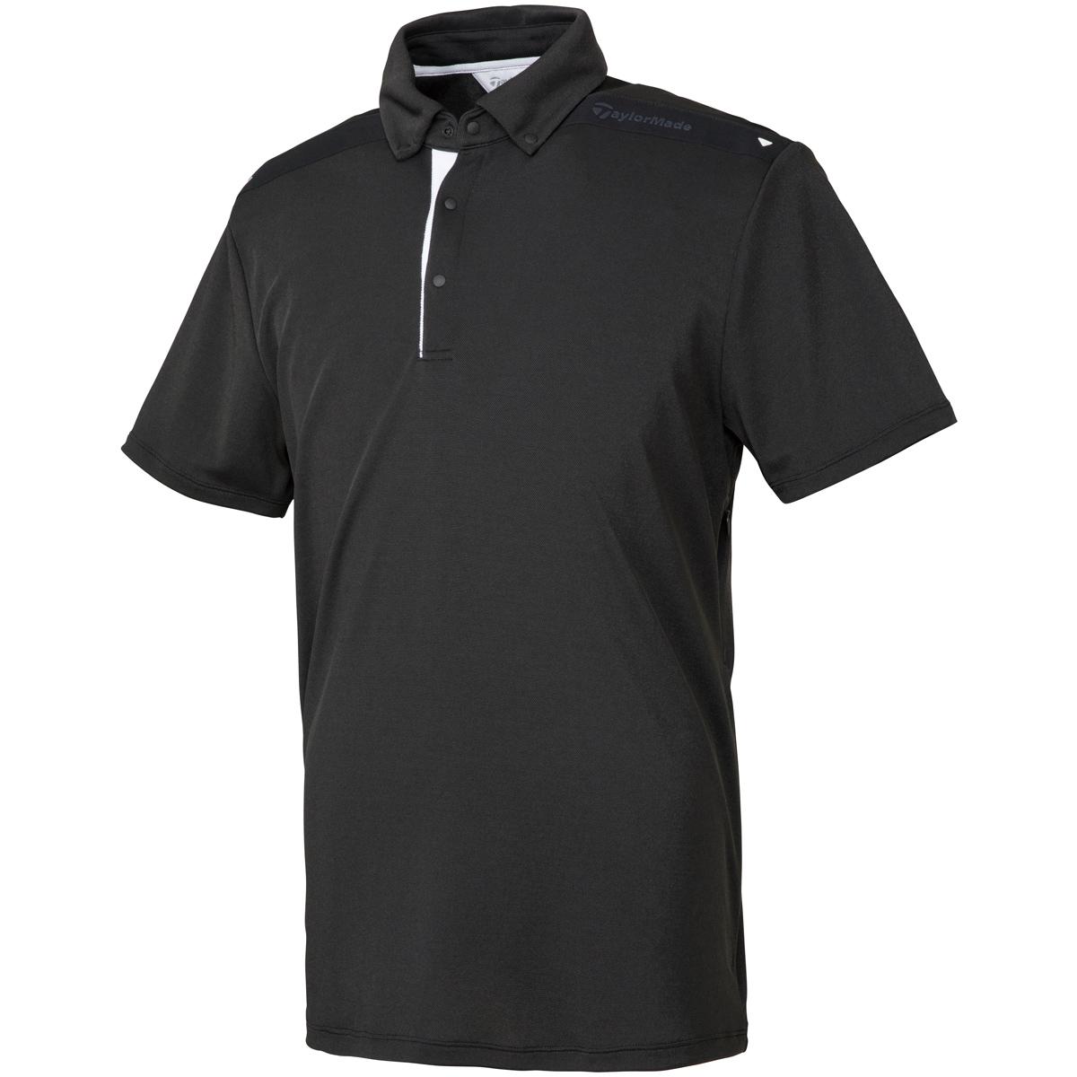 ストレッチ ベンチレーション ボタンダウン半袖ポロシャツ