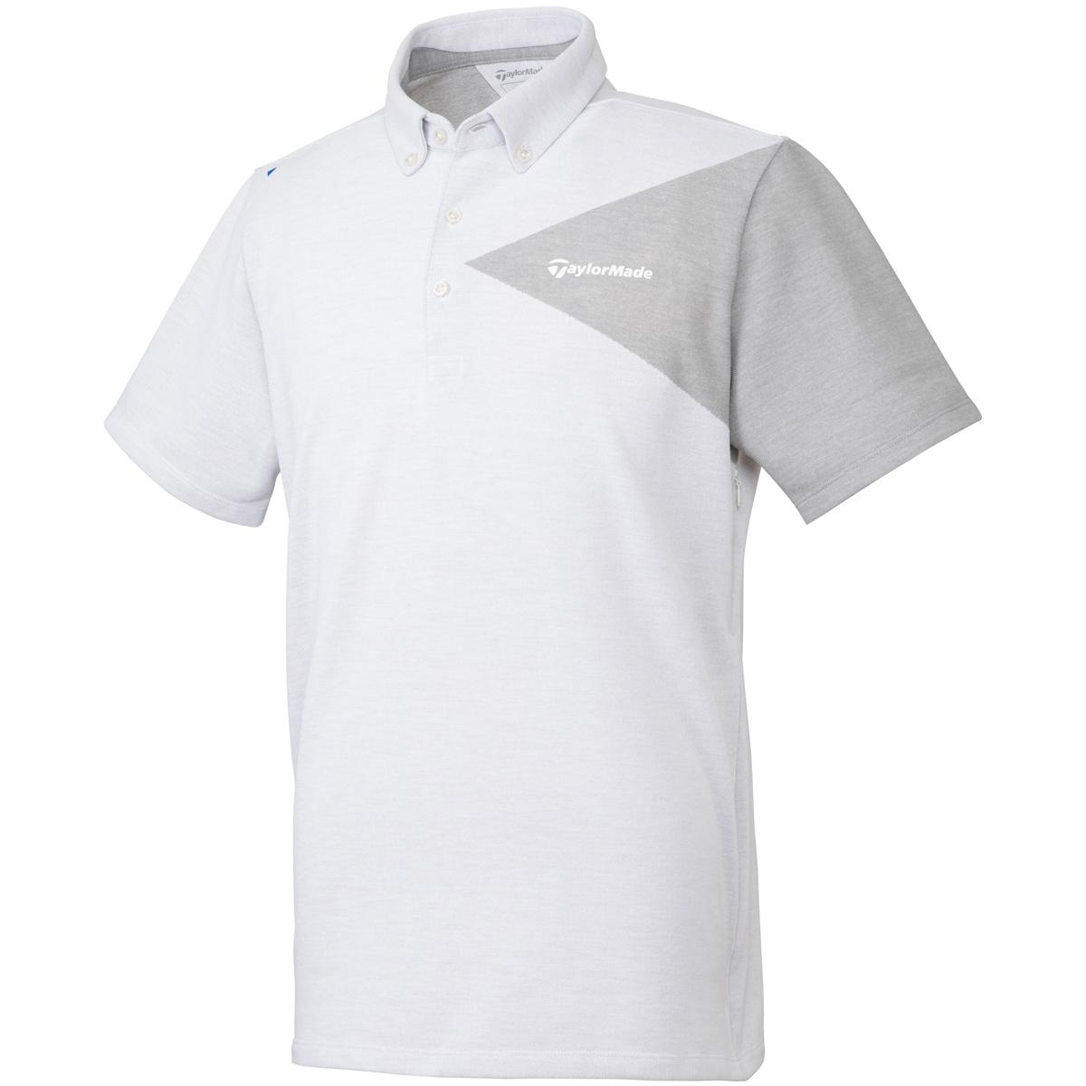 ベンチレーション ミラノリブ ボタンダウン半袖ポロシャツ