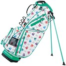 <ゴルフダイジェスト> 在庫限りのお買い得商品! WINWIN STYLE HAPPY SKULL スタンドキャディバッグ ゴルフ