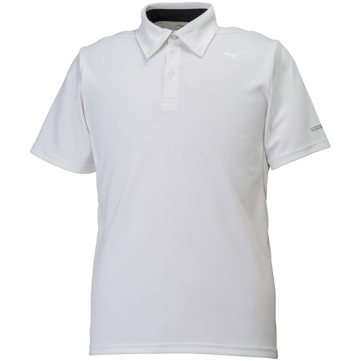 PG ハイドロ銀チタン 半袖ポロシャツ