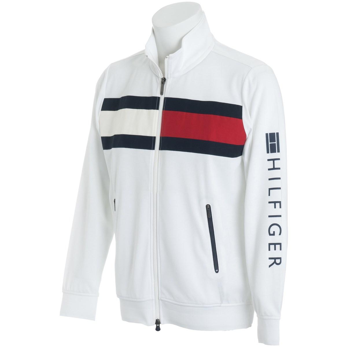 トミーヒルフィガー(Tommy Hilfiger) FRONT FLAG SWEAT ジャケット