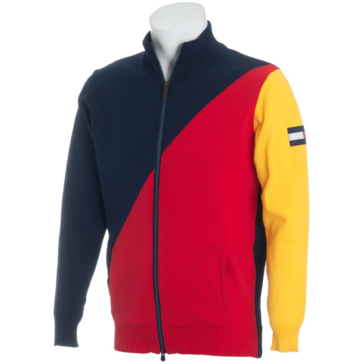 NAUTICAL BIAS ジップアップ セーター