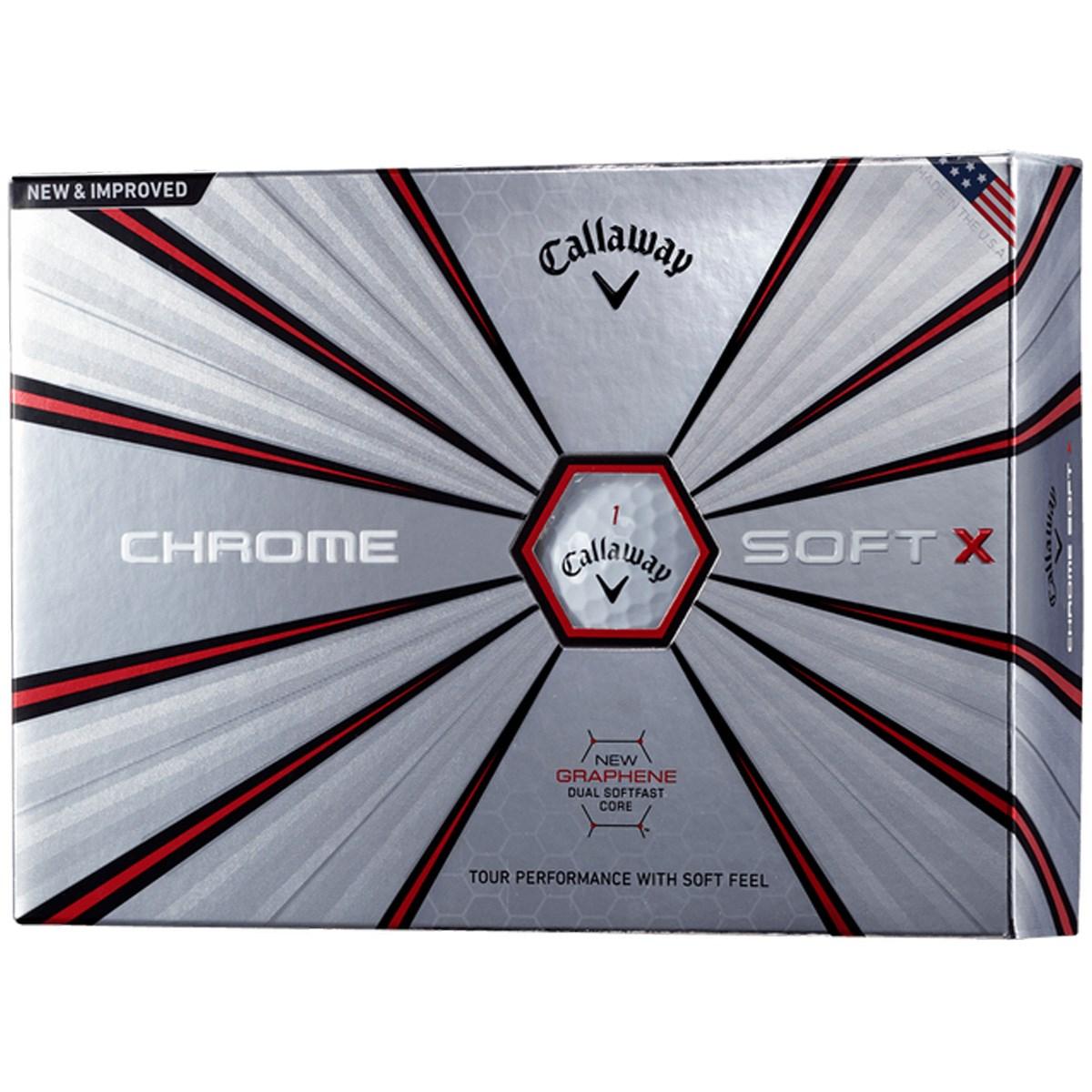 キャロウェイゴルフ(Callaway Golf) CHROME SOFT X ボール